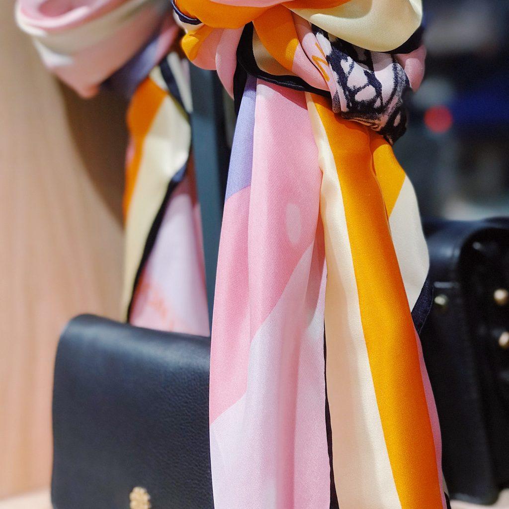 accessoire foulard pour relooking femme