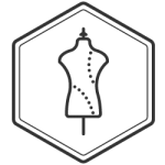 logo histoire de style noir