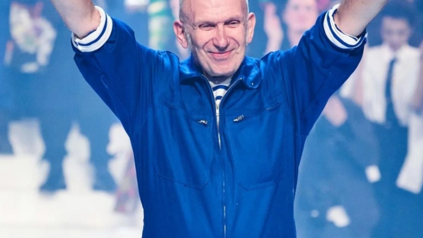 jean paul gaultier à son dernier défilé