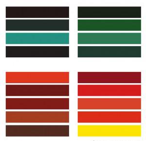 colorimétrie couleurs automne
