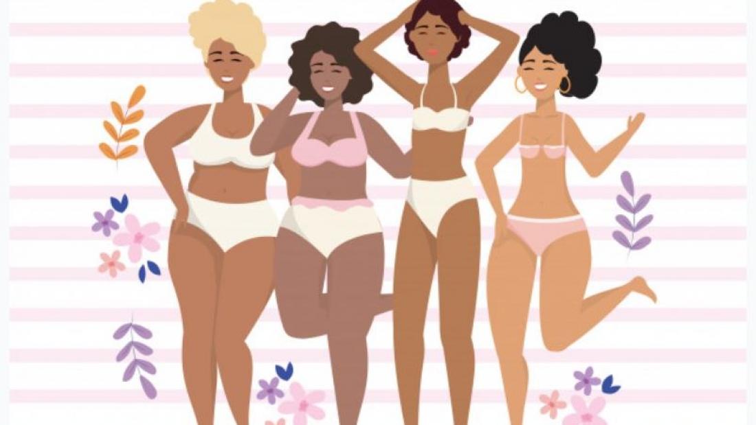 dessin de femmes en sous vêtements