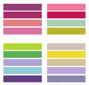 colorimétrie couleurs été