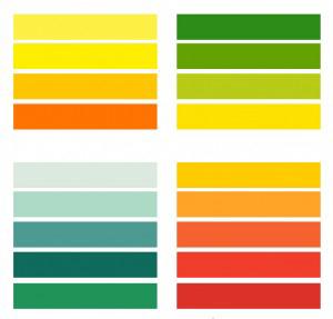 colorimétrie couleurs printemps