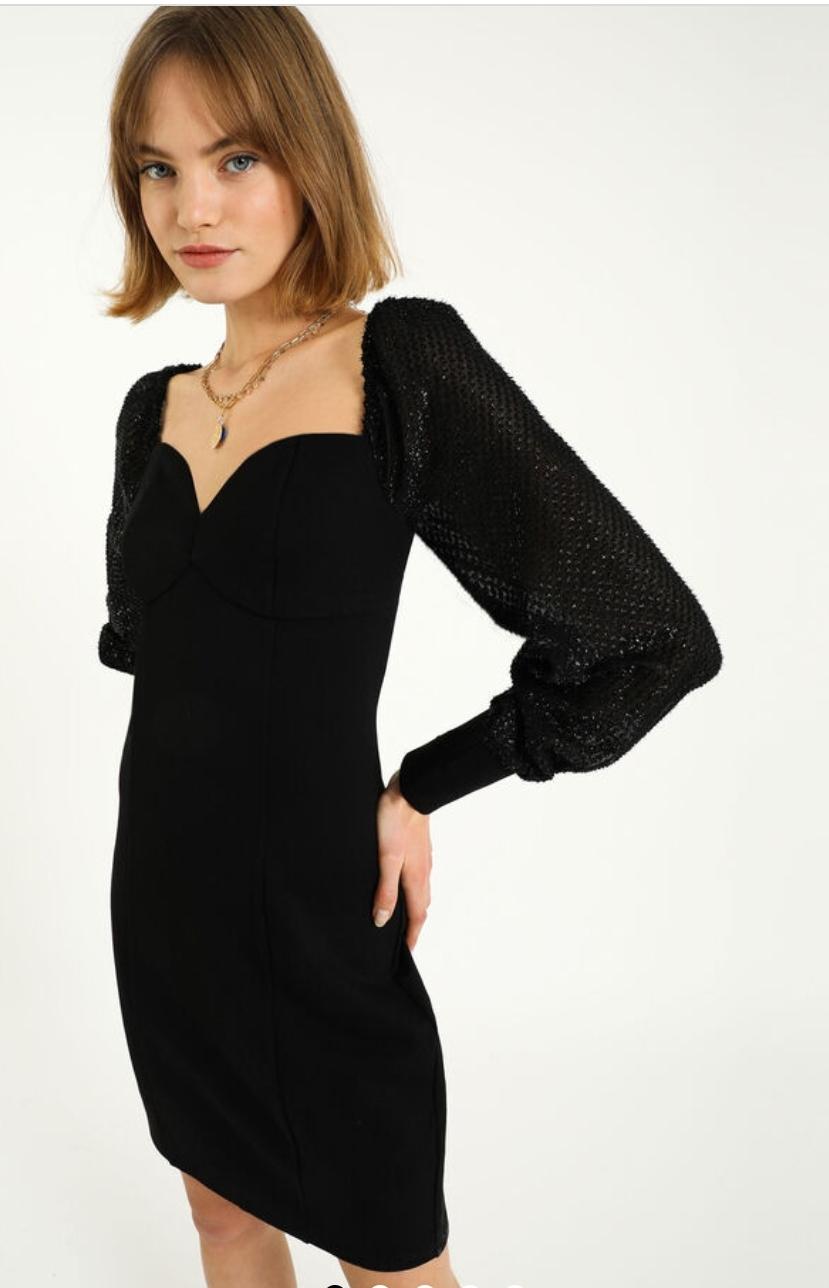 robe décolleté coeur